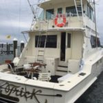 Fishing Yacht Stern - Montauk Charter