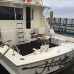 Helm Fishing Seat on Private Yacht Montauk